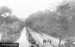 Ystalyfera, The River c.1955