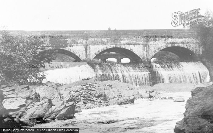 Photo of Ystalyfera, The Weir c.1955