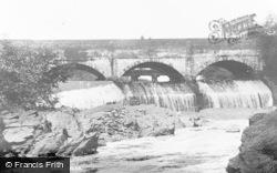 Ystalyfera, The Weir c.1955