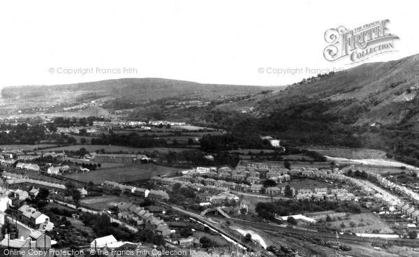 Photo of Ystalyfera, View From Craig Y Merched c.1955