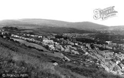 View From Craig-Y-Merched c.1955, Ystalyfera