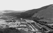 Ystalyfera, view from Craig-y-Merched c1955
