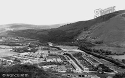Ystalyfera, View From Craig-Y-Merched c.1955