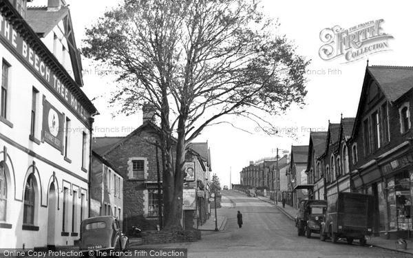 Photo of Ystrad Mynach, Bedwlwyn Road c.1955