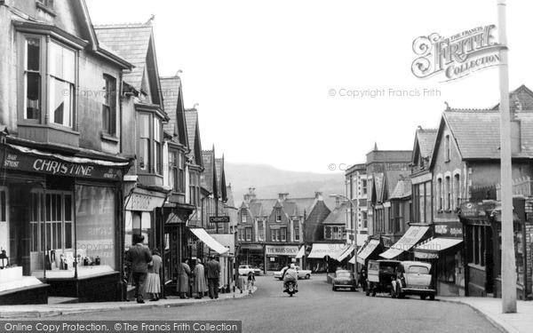 Photo of Ystrad Mynach, Bedwlwyn Road c.1960