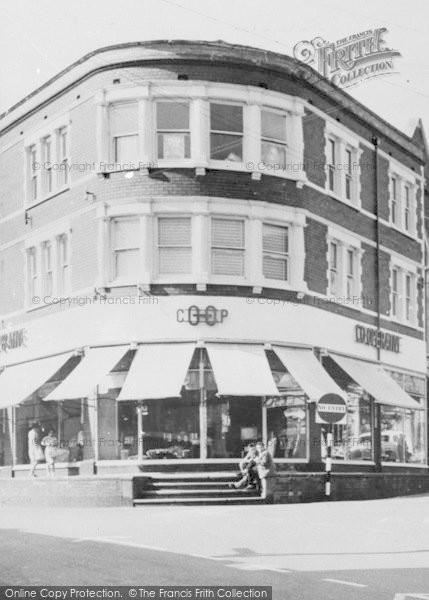 Photo of Ystrad Mynach, Co Operative Store, Bedwlwyn Road c.1960