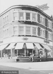 Ystrad Mynach, Co-Operative Store, Bedwlwyn Road c.1960