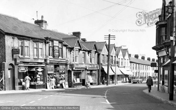 Photo of Ystrad Mynach, Commercial Street c.1960