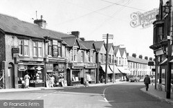 Ystrad Mynach, Commercial Street c.1960