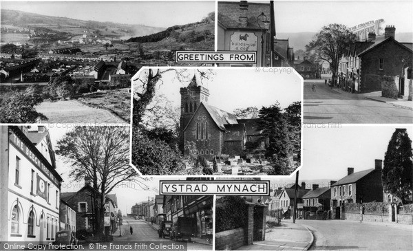 Photo of Ystrad Mynach, Composite c.1955