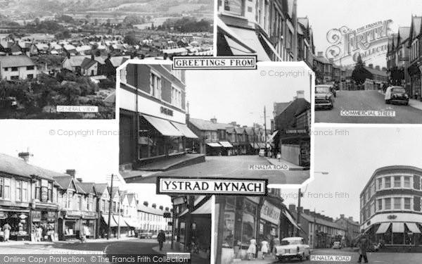 Photo of Ystrad Mynach, Composite c.1960