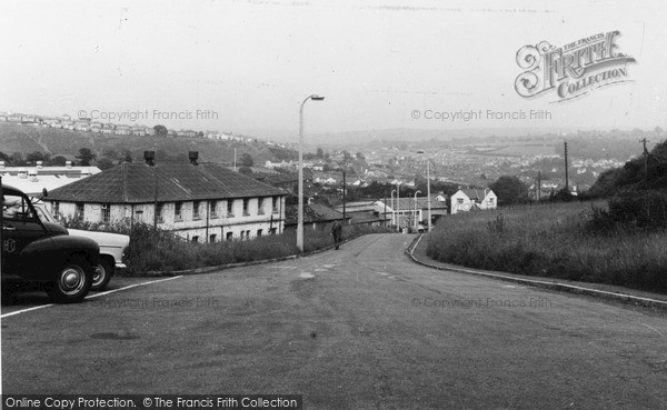 Photo of Ystrad Mynach, From The Hills c.1960