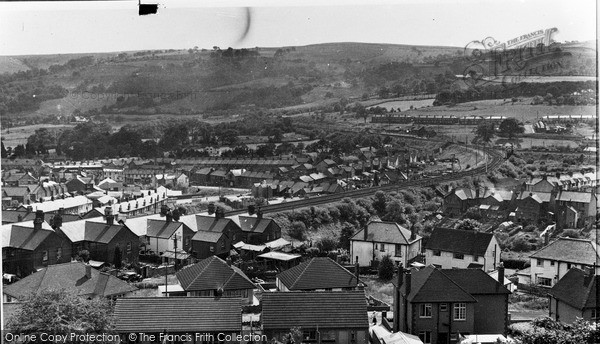 Photo of Ystrad Mynach, General View c.1955