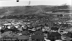 Ystrad Mynach, General View c.1955