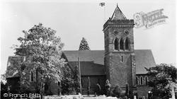 Ystrad Mynach, Holy Trinity Church c.1955
