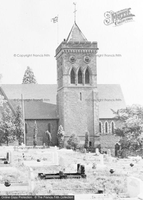 Photo of Ystrad Mynach, Holy Trinity Church c.1960