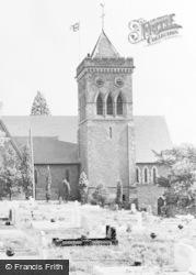 Ystrad Mynach, Holy Trinity Church c.1960