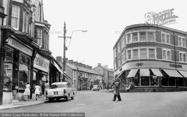 Ystrad Mynach, Penallta Road and Square c1960