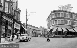 Ystrad Mynach, Penallta Road And Square c.1960