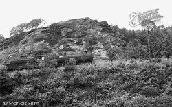 Ystrad Mynach, The Rocks c.1960