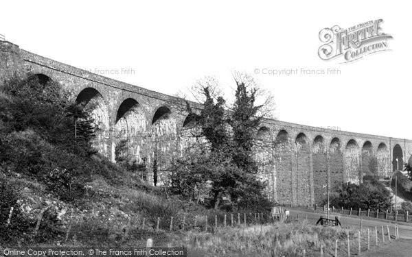 Photo of Ystrad Mynach, The Viaduct 1938