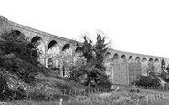 Ystrad Mynach, the Viaduct 1938