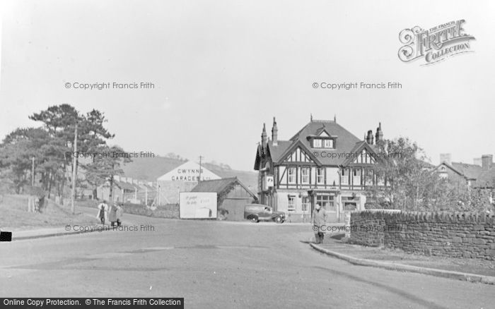 Photo of Ystrad Mynach, The Village c.1955