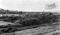 Ystrad Mynach, Tredomen Colliery And General View c.1955