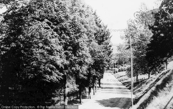 Ystrad, Nantwyddon Road c1960