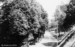 Ystrad, Nantwyddon Road c.1960