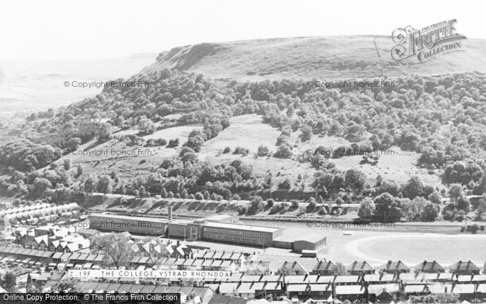 Photo of Ystrad, The College c.1955