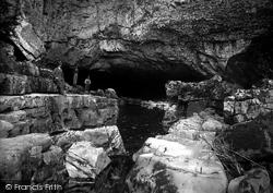 Ystradfellte, Porth-Yr-Ogof Cave 1936