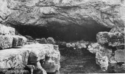 Ystradfellte, The Caves c.1955