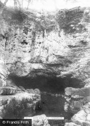 Ystradfellte, White Horse Cave c.1955