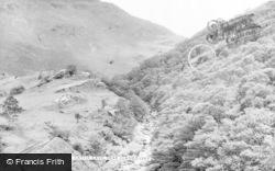 Ystradffin, Twm Siôn Cati's Cave c.1960