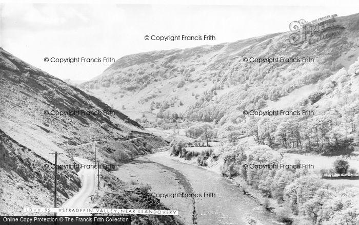 Photo of Ystradffin, Valley c.1960