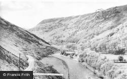 Ystradffin, Valley c.1960