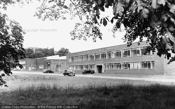 Photo of Ystradgynlais, Anglo Celtic Watch Factory c.1955