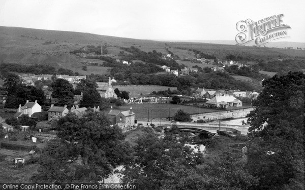 Photo of Ystradgynlais, c.1955
