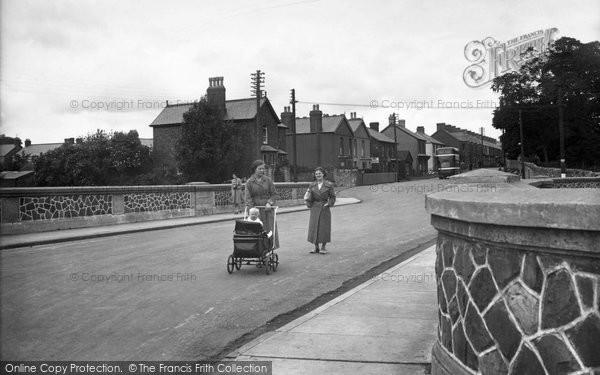 Photo of Ystradgynlais, Church Terrace 1937