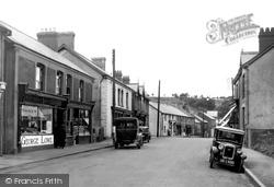 Ystradgynlais, Commercial Street 1937