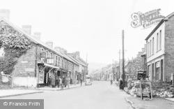 Ystradgynlais, Commercial Street c.1955