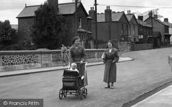 Ystradgynlais, Pram In Church Terrace 1937