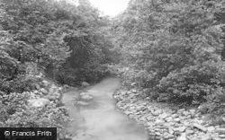 Ystradgynlais, River Giedd c.1955