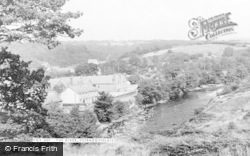 Ystradgynlais, The River c.1955