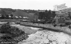 Ystradgynlais, The River Tawe 1938