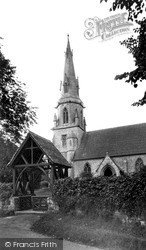 Zeals, St Martin's Church c.1955