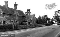 The Alms Houses c.1955, Zeals