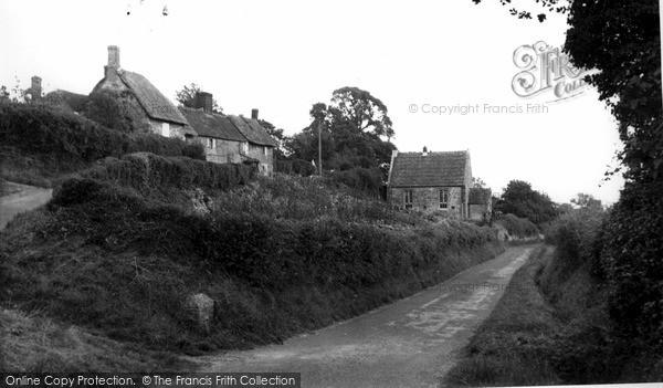 Photo of Zeals, The Village c.1955