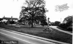 Zeals, The Village Green And Memorial c.1965